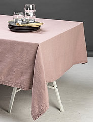 Gripsholm - TABLE CLOTH SOLID SMOKE 145X250 - duker & løpere - fawn - 1