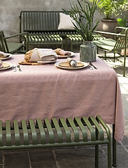 Gripsholm - TABLE CLOTH SOLID SMOKE 145X250 - duker & løpere - fawn - 2