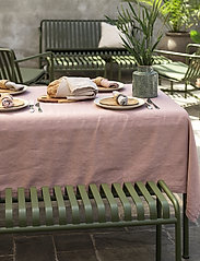 Gripsholm - TABLE CLOTH SOLID SMOKE 145X300 - duker & løpere - fawn - 1