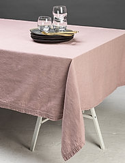 Gripsholm - TABLE CLOTH SOLID SMOKE 145X300 - duker & løpere - fawn - 2