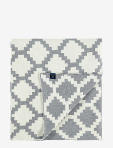 PLAID ADRIAN - decken - grey melange