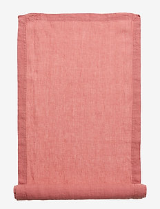 Runner Washed Linen - WITHERD ROSE