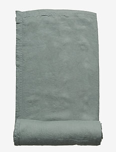 Table Cloth Washed Linen - LILY GREEN