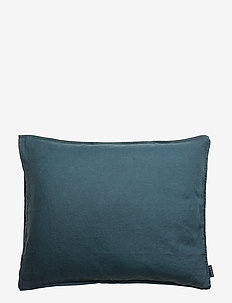 Pillowcase Washed Linen - DARK PETROL