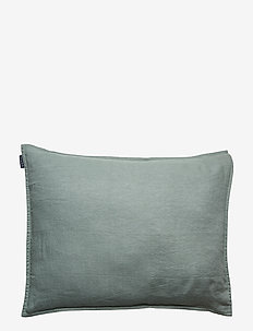 Pillowcase Washed Linen - pudebetræk - lily green