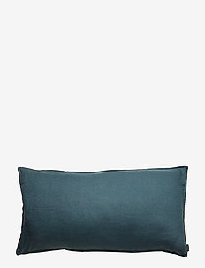 Pillowcase Washed Linen - pudebetræk - dark petrol