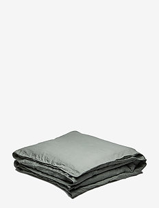 Quilt Cover Washed Linen - LILY GREEN