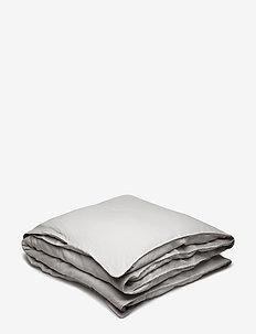 Quilt Cover Washed Linen - duvet covers - lunar rock