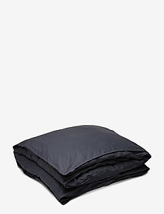 Quilt Cover Washed Linen - påslakan - ombre blue