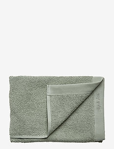 TOWEL COTTON LINEN - LILY GREEN