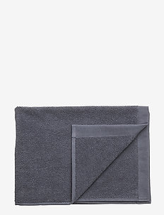 TOWEL COTTON LINEN - towels - ombre blue