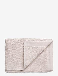 TOWEL COTTON LINEN - håndklæder - pale pink