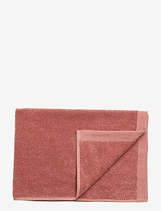 TOWEL COTTON LINEN - WITHERED ROSE