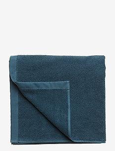 BATH TOWEL COTTON LINEN - towels - dark petrol