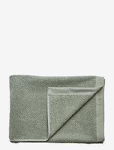 BATH TOWEL COTTON LINEN - LILY GREEN