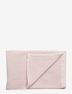 BATH TOWEL COTTON LINEN - PALE PINK