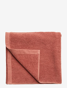 BATH TOWEL COTTON LINEN - WITHERED ROSE