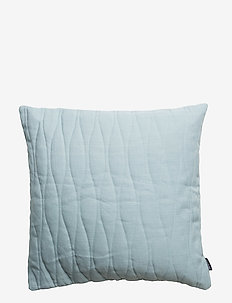 CUSHION COVER QUILTED - tyynyliinat - petrol
