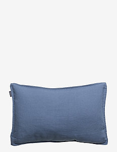CUSHION COVER WASHED LINEN - tyynyliinat - vintage indigo