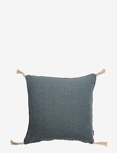 CUSHION COVER - MISTY PETROL