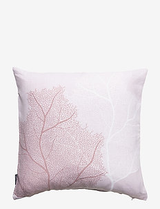 CUSHION COVER LINEN CORAL - tyynyliinat - pale pink