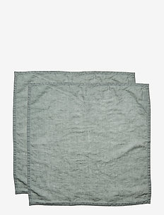 NAPKIN WASHED LINEN - napkins - lily green