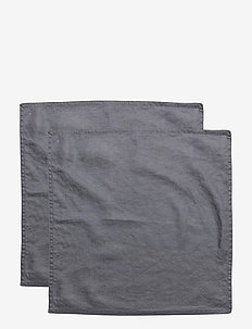 NAPKIN WASHED LINEN - napkins - ombre blue