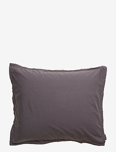 PILLOWCASE VINTAGE GOTS - ANTHRACITE