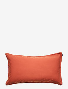 PILLOWCASE VINTAGE GOTS - pillowcases - brick red