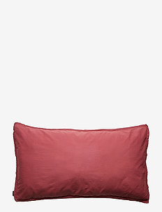 PILLOWCASE VINTAGE GOTS - ROUGE