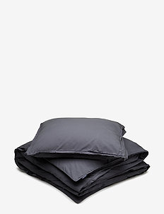 BED SET VINTAGE GOTS - bäddset - anthracite