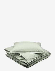 BED SET VINTAGE GOTS - bedding sets - lily green