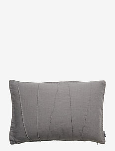 CUSHION COVER JOSEF - DARK GREY
