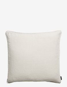 CUSHION COVER WASHED LINEN - LUNAR ROCK