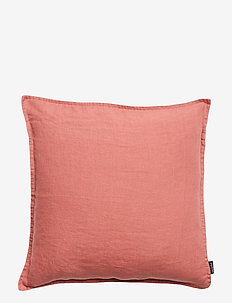 CUSHION COVER WASHED LINEN - kuddfodral - withered rose