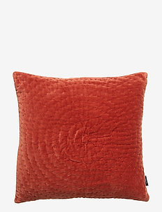 CUSHION COVER OSSIAN GOTS - pudebetræk - brick red