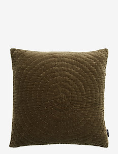 CUSHION COVER OSSIAN GOTS - kuddfodral - ivy green