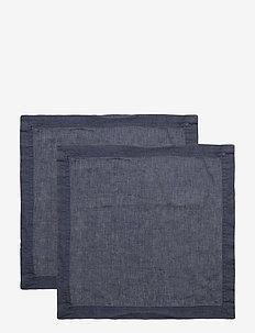 NAPKIN LINEN BLEND - servetter - ombre blue