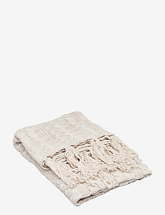 THROW ELTON - blankets - linnen beige