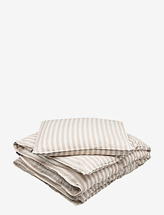BED SET ALVE GOTS - duvet covers - linnen beige