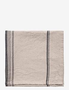 KITCHENTOWEL STRIPE LINEN BLEND - torchons - linnen beige