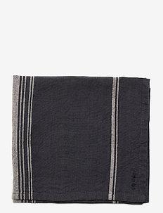 KITCHENTOWEL STRIPE LINEN BLEND - ręczniki kuchenne - ombre blue