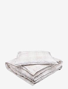 BED SET ALMA GOTS - bettbezüge - white