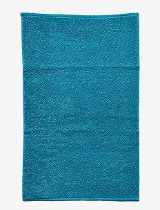 BATH MAT TERRY SIGRID - bath rugs - petrol