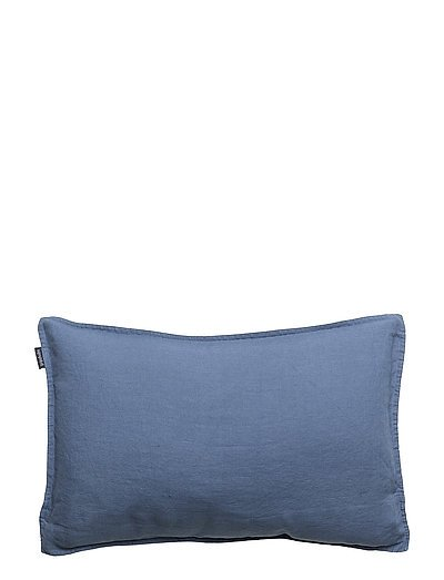 CUSHION COVER WASHED LINEN - VINTAGE INDIGO