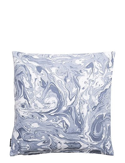 CUSHION COVER MARMOR - ASH BLUE