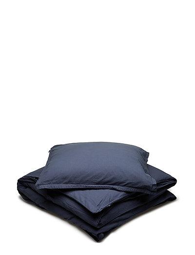 BED SET KING SIZE VINTAGE GOTS - OMBRE BLUE