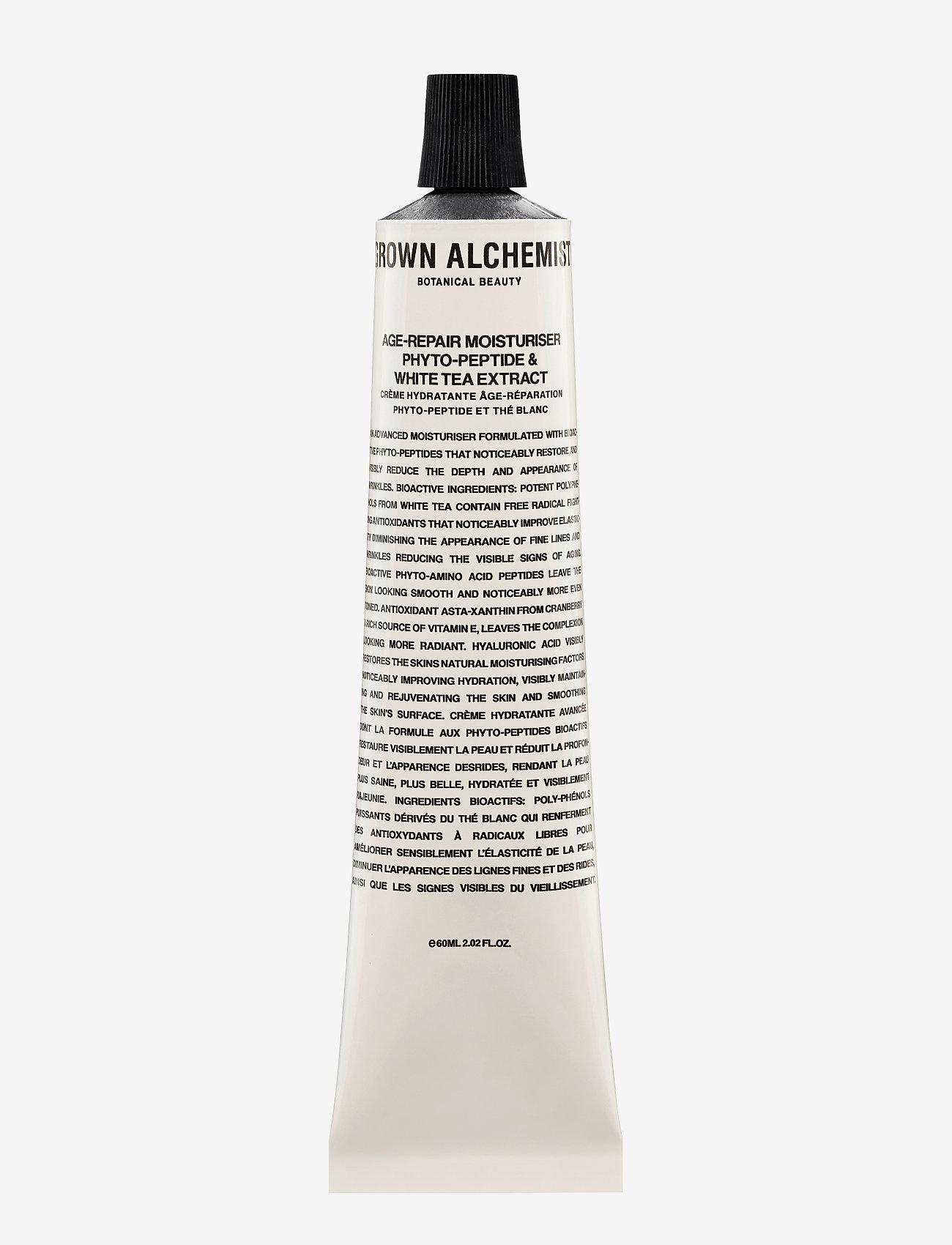 Grown Alchemist - Age-Repair Moisturiser: White Tea & Phyto-Peptide Extract - fuktpleie - clear - 0