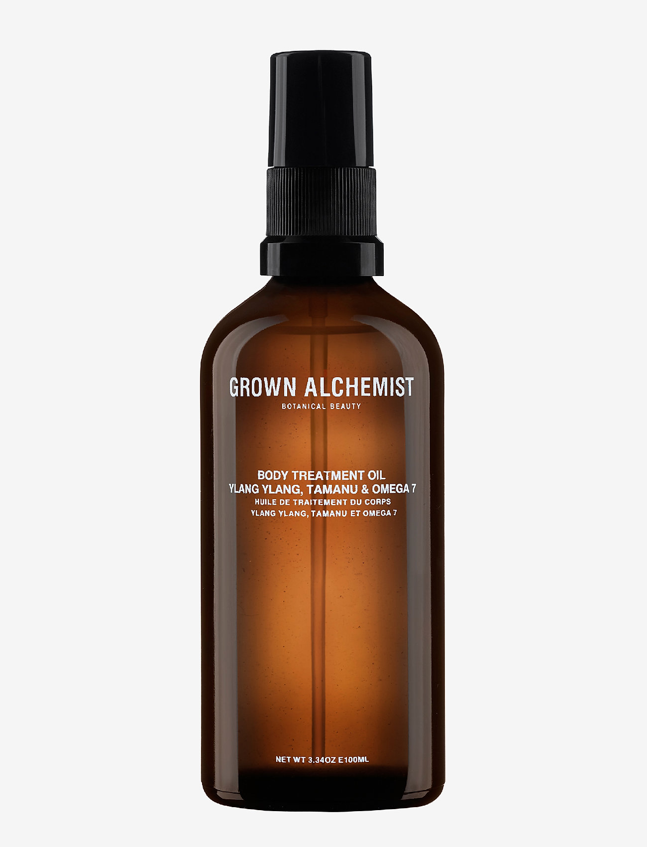 Grown Alchemist - Body Treatment Oil: Ylang Ylang, Tamanu & Omega 7 - ansiktsoljer - clear - 0