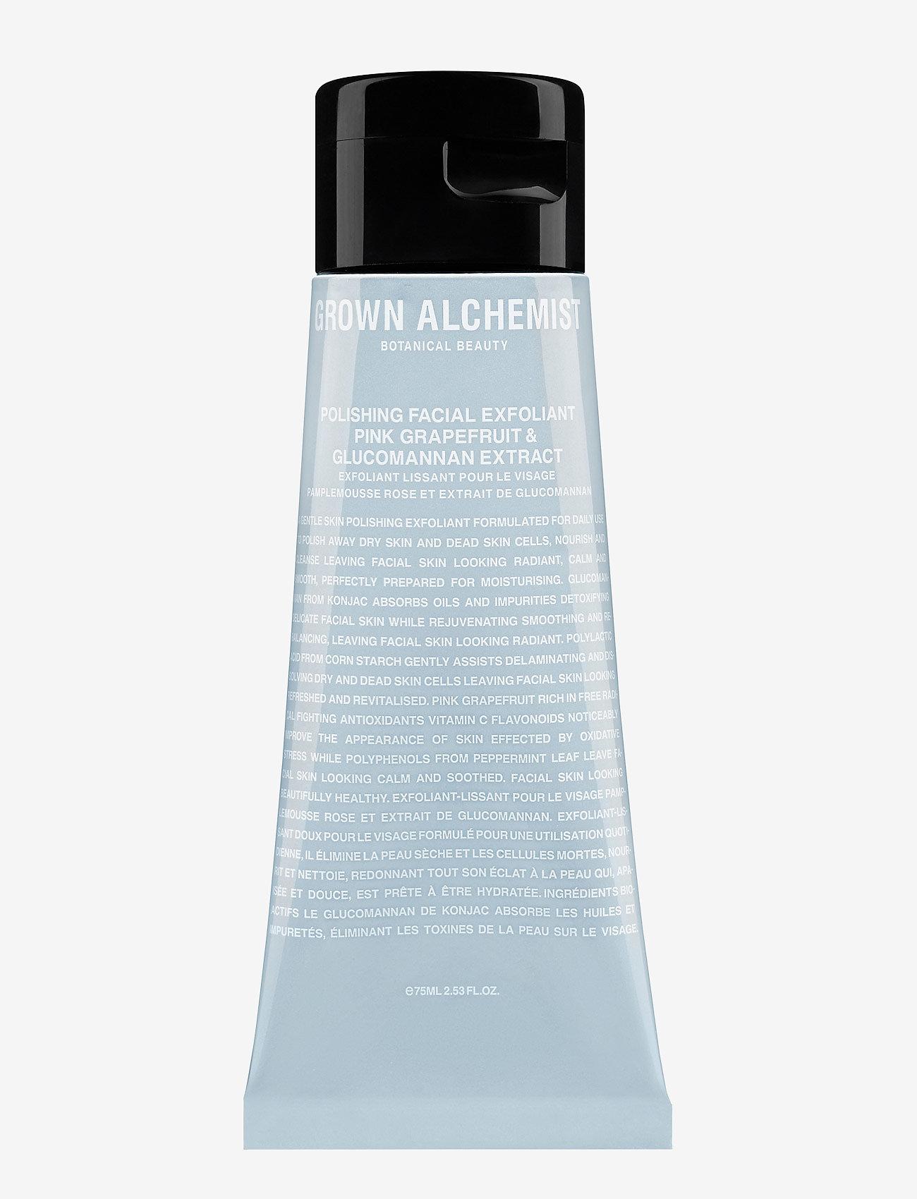 Grown Alchemist - Polishing Facial Exfoliant: Pink Grapefruit & Glucomannan Ex - peeling - clear - 0